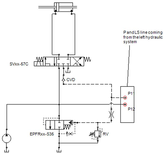 Directional Control Circuit with CVD Check Valve
