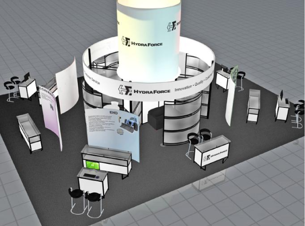 HydraForce Trade Show Booth