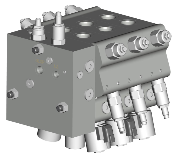 proportional directional control valve manifold
