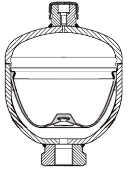 Typical Diaphragm Accumulator